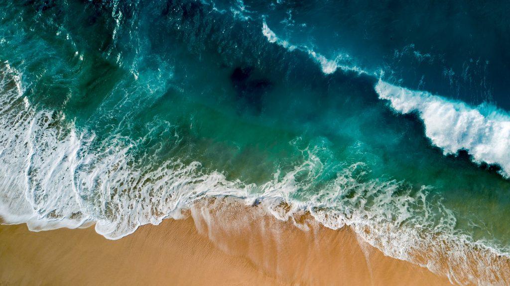 fale, ocean